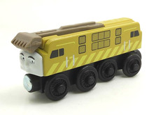 RARE NEW DIESEL 10 Original Thomas And Friends Wooden Magnetic Railway Model Train Engine Boy / Kids Toy Christmas Gift