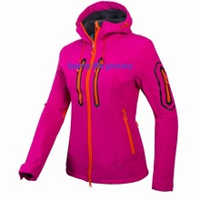 Women's Waterproof Breathable Softshell Jacket Ladies Outdoors Sports Coats Girl Soft Shell Ski Hiking Windproof Winter Outwear