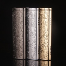 Tang grass treasure flower metal plating windproof lighter smoking lighters Men gas flame Cigarette Lighter Gift lighters-TL603