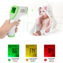 Digital Thermometer IR Infrared Thermometer Non-contact Forehead Body Surface Temperature instruments termostato Data Hold Func