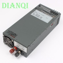DIANQI Switching power supply 1200W 72V 16.5A POWER SUPPLY  for LED Strip light AC to DC power suply input 110v 220v  S-1200-72