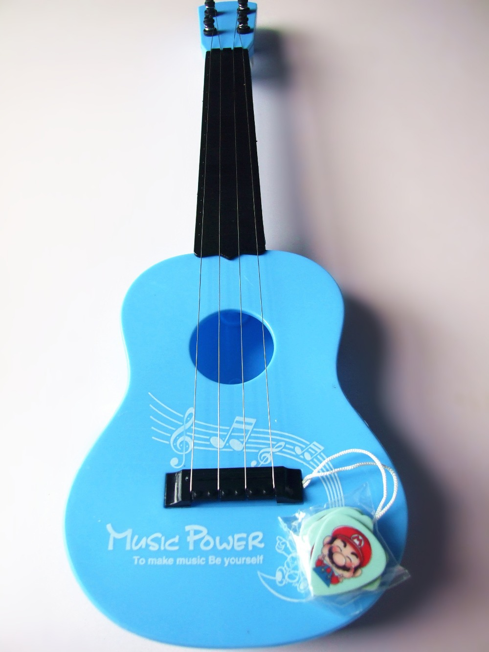 Childrens toy guitar can play the guitar and lovely blue special ukulele acoustic guitar bass telecasters guitarra electrica<br><br>Aliexpress