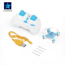 Blue Remote Control Toys RC Quadcopter Mini for Cheerson CX-10 2.4G 4CH 6Axis RC helicopters Radio Control Aircraft Mode Drone