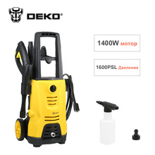 DEKO 1595PSI Electric High Pressure Washer 1400W 1.41GPM Cleaner Machine Water Sprayer,Power Nozzles, Spray Gun, Wand, Detergent(China)