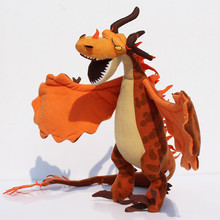 1pcs 36cm How to Train Your Dragon Plush Toys Soft Dolls For Childrens Gift Free Shipping(China)