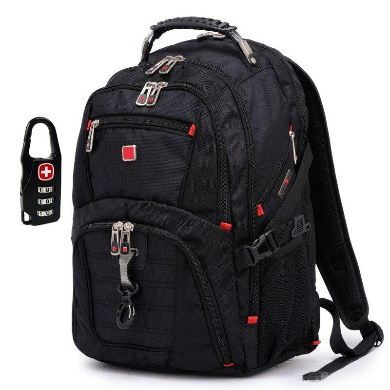 Brand Swiss Mens Backpack military laptop bag men travel school bags for boys Mochila masculino Orthopedic Backpack<br><br>Aliexpress
