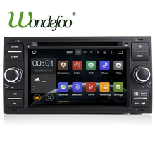 Android 7.1 Car DVD PLAYER For Ford Mondeo S-max Focus C-MAX Galaxy Fiesta Form Fusion Connect Quad core 2G 32G Radio stereo(China)