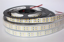 240LEDs/m SMD2835 LED Strip 12V  5m Non waterproof  IP67 Waterproof Flexible LED Light 1200Leds Double Row LED Strip 2835 white