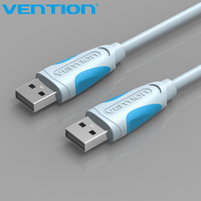 Vention USB 2.0 High Speed USB 2.0 Data Transfer Cable 1m 2m Male To Male Plug and Play USB Cable For Computer Cable2.0 Extender(China)