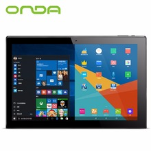 "Onda OBook 20 Plus 10.1"" 4GB 64GB Windows10 Android 5.1 Intel Cherry Trail Z8300 WiFi Hdmi 2 in 1 Ultrabook Mental Tablet PC"
