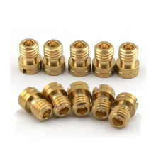 10X MAIN JETS for GY6 125 150  CVK Chinese Scooter  Motorcycle ATVS KART 100-142 carburetor Injector Nozzle