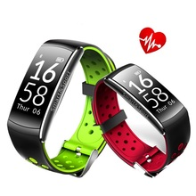 Buy Q8 Smart Bracelet Heart Rate Monitor Fitness Tracker Bluetooth Wristband IP68 Waterproof Monitor Sport Smartband Android IOS for $32.51 in AliExpress store