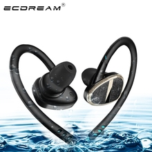 Original wireless earphones H902 with microphone in ear earphone for computer mobile phone support 2 devices resist twine