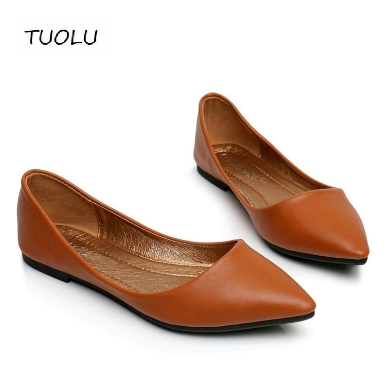 2017  womens sandals shoe Woman Genuine Leather Flat Shoes Fashion Hand-sewn Leather Loafers Female hole hole shoes Women Flats(China)