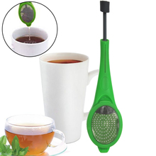 1Pc Green Tea Infuser Healthy Flavor Total Silicone Coffee & Tea Strainer Gadget Measure Swirl Steep Stir And Press Food Grade(China)