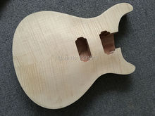 Electric  guitar Guitar Body with No paint finish;Flame maple top;Free shipping