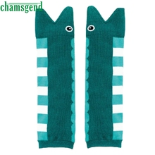 CHAMSGEND Drop ship baby socls socks kids Kids Girl Pair Cartoon Cotton Leg Warmers Socks Baby Child Knee Pads Feb7 S30