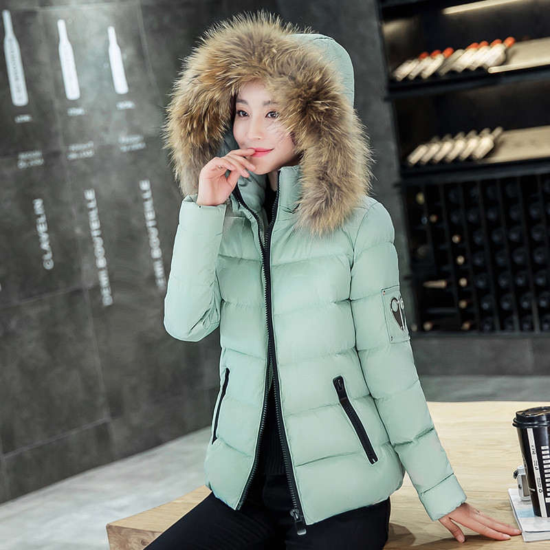 Women Down Fur Parkas short Winter Fashion Women Coat Down jacket for Female Clothing Thick Outerwears Plus SizeОдежда и ак�е��уары<br><br><br>Aliexpress