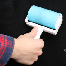 1Pc New Lint Roller Washable Dust Hair Fluff Remover Roller Sticky Reusable Cleaner Tool(China)