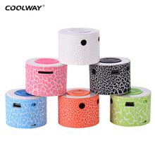 Portable Mini MP3 Player Cool Crack Rechargeable Speaker Support TF Card Loudspeaker High-definition Sound MP3 Music Player Gift