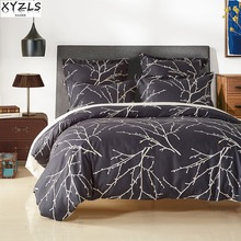 XYZLS Polyester/Cotton US/UK/RU Size Bedding Set Home Western Bed Linings Single Queen Double Family Printed Bedclothes