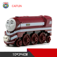 Thomas and Friends -One Piece Diecast Metal Train CAITLIN Megnetic Train Toy Tank Engine Toy For Children Kids Christmas Gifts(China)