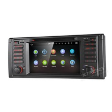 "7"" Android 5.1 OS Car DVD for BMW E39 1997-2004 & 5 Series Sedan 1995-2003 & X5 E53 2000-2006 With Google Voice Search Support"
