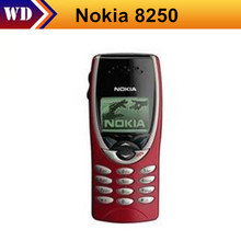 8250 Original Unlocked NOKIA 8250 mobile phone Dualband Classic Cheap Cell phone free shipping(China)