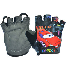 Safety Children Cycling Gloves Road Bike Gloves Breathable Riding Half-Finger Gloves Kids Sport Fitness Gloves Guantes Ciclismo(China)
