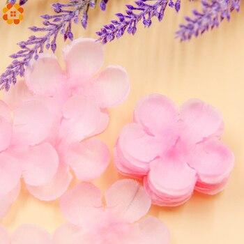 500pcs Rose Petals Simulation Cherry Blossom Petals Wedding Petals Fake Artificial Flower Home And Wedding Decor Free Shipping