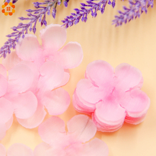 500pcs Rose Petals Simulation Cherry Blossom Petals Wedding Petals Fake Artificial Flower Home And Wedding Decor Free Shipping(China)