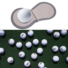 Terry Lined Plastic Pocket Golf Ball Cleaner Wet Inside Dry in Pocket Grey No LOGO