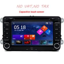 "7"" Capacitive touch screen Car DVD GPS built-in Can Bus Original VW UI for Vollkswagen POLO PASSAT B6 Golf 5 6 Skoda Octavia"