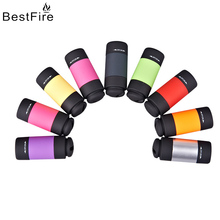BestFire USB Flashlight Rechargeable Portable Keychain Highlight LED Small Flashlight Mini Outdoor Small Flashlight