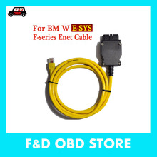 New ESYS 3.23.4 V50.3 Data Cable For bmw ENET Ethernet to OBD OBDII 2 Interface Data E-SYS ICOM Coding for F-serie Free Ship