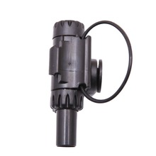 Outdoor Black Electronic LED Light Fish Bite Sound Alarm Bell Fishing Rod O03