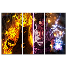 Wall Art Home HD Printed Modern Framework 3 Panel Naruto Cool Modular Decoration Posters Picture Canvas Living Room Painting