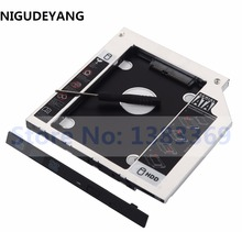 NIGUDEYANG 2nd Hard Disk Drive HDD SSD Caddy Adapter for HP ProBook 440 G1 455 470 G0 G1 G2