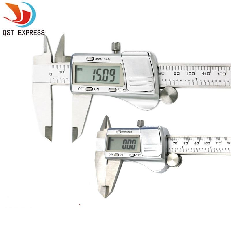 digital caliper 0-150 mm /0.01 stainless steel electronic vernier calipers metric / inch micrometer gauge measuring tools<br><br>Aliexpress