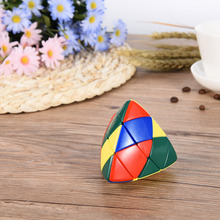 Dumpling Ball Shape Third-level Heteromorphic Magic Cube Educational Toys Rubik's Cube Plastic Twisty Magic Cube Toys for Child