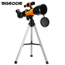 High Quality F36050N Monocular 360*50mm 36X-120X Aluminum Zoom Astronomical Telescope Space Spotting Scope Gifts for Hunter(China)