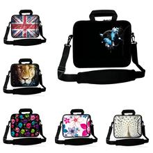 "9.7"" Mini PC Tablet Neoprene Material Shoulder Computer Bags For Samsung Chuwi Huawei Apple Netbook 10"" 10.1"" Laptop Briefcase"
