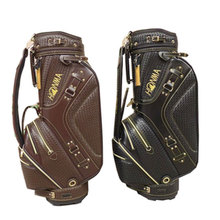 New Hon-ma Golf staff bag High quality Golf bag black/brown colors in choice 9.5 inch Golf cart bag Free shipping(China)