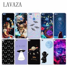 1162O Hard Case Cover for Huawei P8 P9 P6 P7 P10 Lite PLUS for Honor 8 LITE 6 7 G7 4C 4X The Large Space Alien