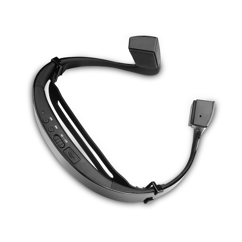 S.Wear LF-18 Wireless Bone Conduction headphone Stereo Headset BT 4.1 Waterproof Bluetooth Neck-strap NFC Earphone Hands-free