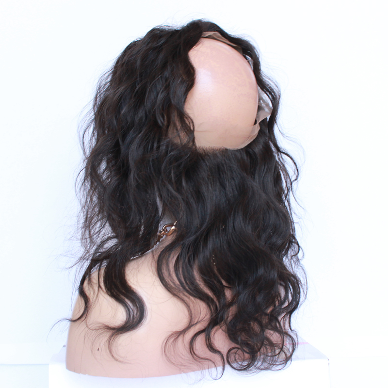 8A Brazilian Body Wave 360 Lace Virgin Hair Lace Frontal Closure With Baby Hair 360 Lace Frontal Body Wave Pre Plucked Frontal<br><br>Aliexpress