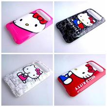 4 Patterns Hello Kitty Hard Phone Case Cover for for HTC HD7 T9292 Cover Case