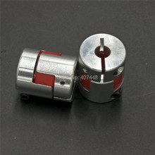 2pcs/lot 8mm to 10 mm CNC Motor Jaw Shaft Coupler Flexible Coupling Spider Flexible 8*10mm 4/5/6/6.35/8/9.5/10/12mm(China)