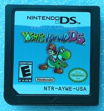 Nintendo NDS Game Yoshis Island DS Video Game Cartridge Console Card English Language USA Version(China)