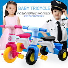 Toys Ride On Cars Kids Tricycle Music Bikes Baby Walkers Baby Stroller Children's Outdoor Activity Gear Safe Ride Bicycles(China)